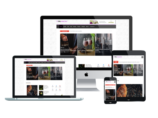 TPG Healthy – Best Premium Flexible Magazine WordPress Theme 1