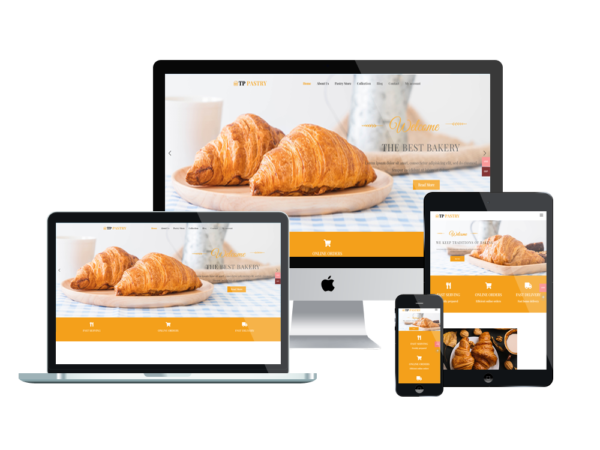 TPG Pastry – Best Premium Responsive Bakery wordpress theme 1