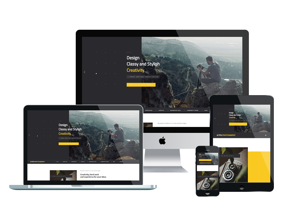 TPG Photography – Best Premium Responsive WordPress Photo Gallery theme 3