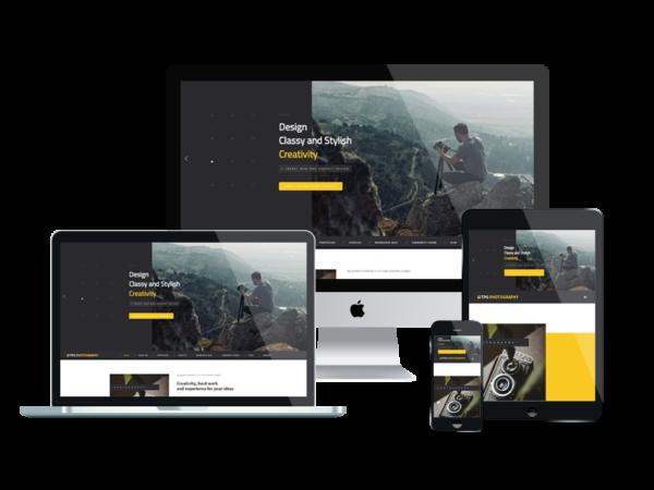 TPG Photography – Best Premium Responsive WordPress Photo Gallery theme 1
