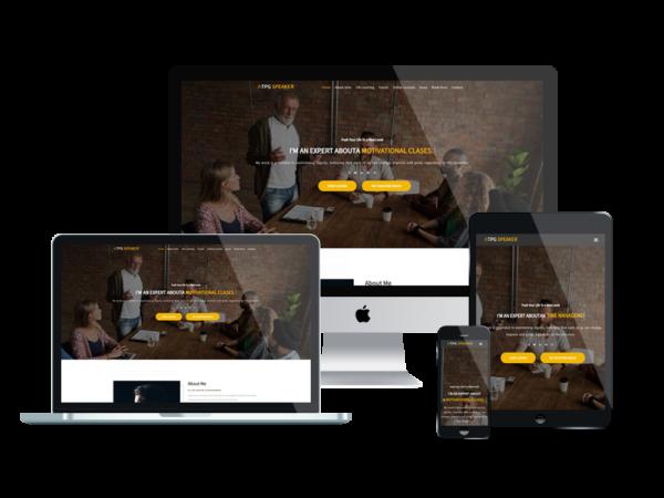 TPG Speaker – Best Premium Responsive Conference WordPress theme 1