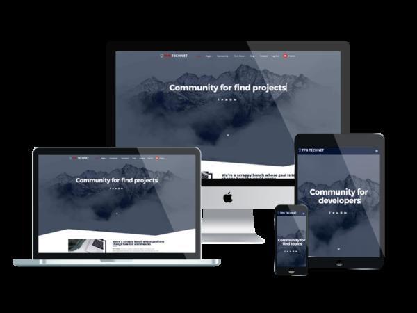 TPG Technet – Best Premium Responsive Technology WordPress theme 1