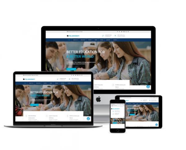 TPG University – Best Premium Responsive Education WordPress theme 1