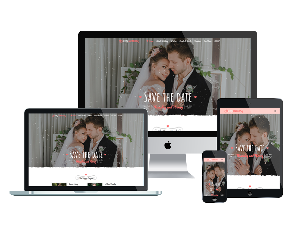 TPG Wedding – Best Premium Responsive Marriage WordPress Theme 3