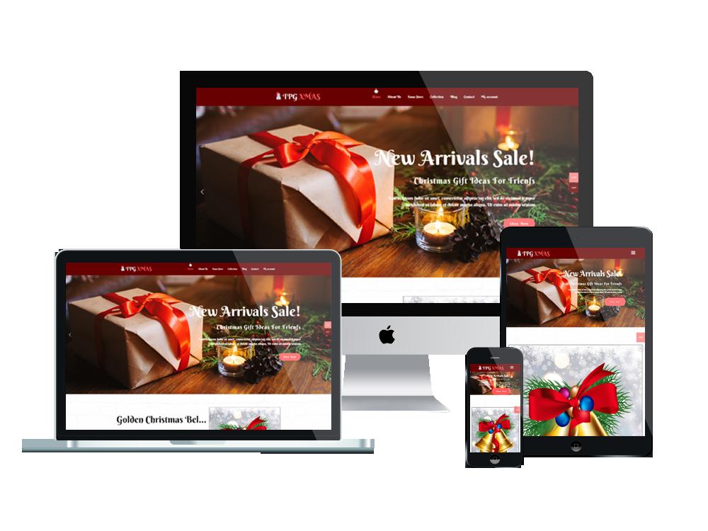 TPG Xmas – Best Premium Responsive WordPress Christmas Theme 2