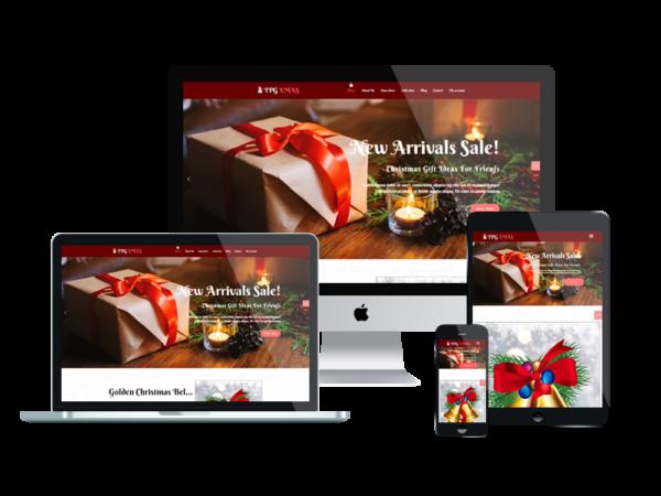 TPG Xmas – Best Premium Responsive WordPress Christmas Theme 1