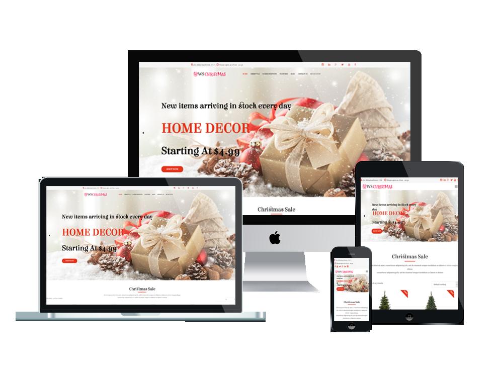 WS Christmas – Christmas WooCommerce WordPress theme 3