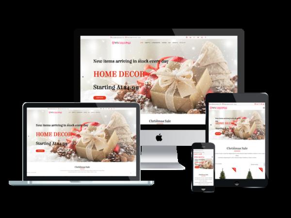 WS Christmas – Christmas WooCommerce WordPress theme 1