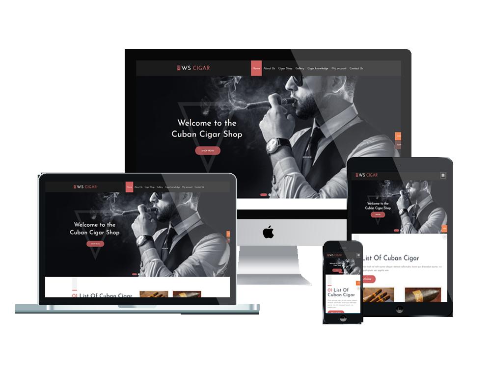 WS Cigar – Premium Cigar Shop Woocommerce WordPress theme 2