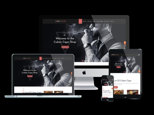 WS Cigar – Premium Cigar Shop Woocommerce WordPress theme 1