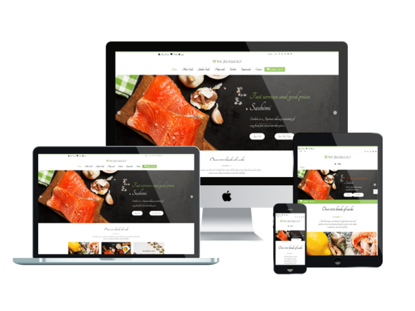 WS Desushi – Sushi Restaurant Woocommerce WordPress theme 1