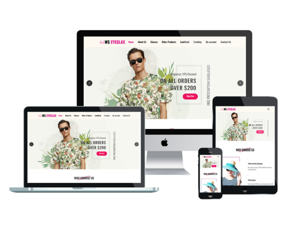 WS EyeGlax – Premium Fashion & Accessories WordPress theme 1