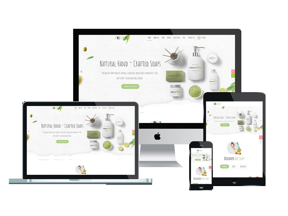 WS Foam – Premium Soap WooCommerce wordpress theme 2