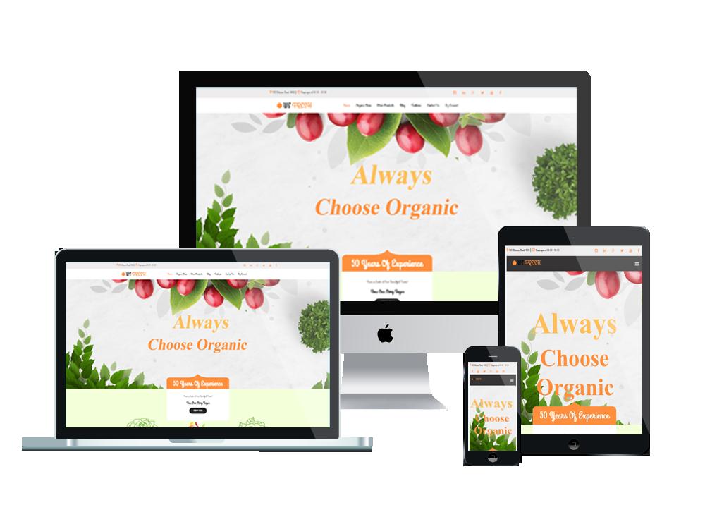 WS Fresh – Agriculture Store WooCommerce WordPress theme 3