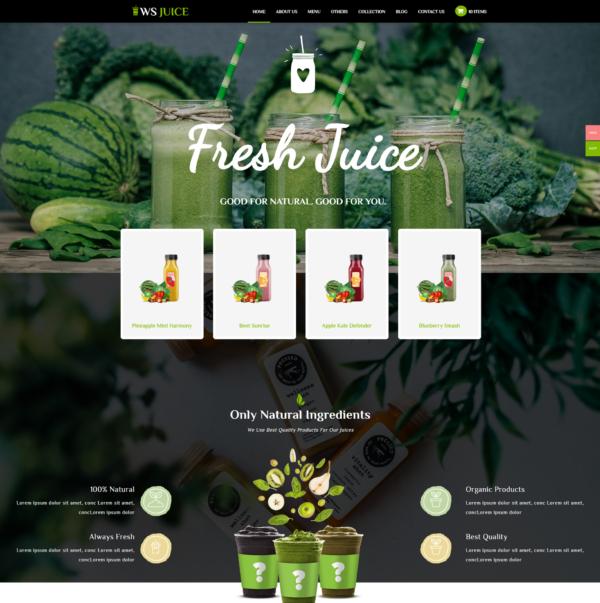 ws-juice-free-responsive-wordpress-theme-home
