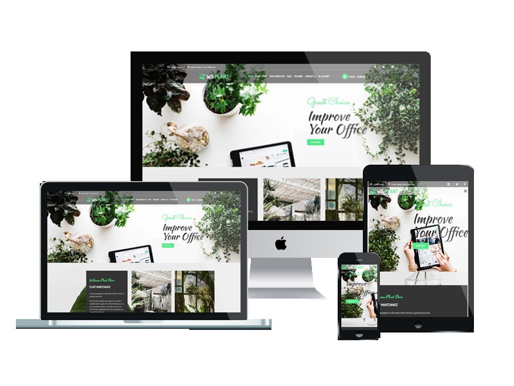 WS Plant – Garden WooCommerce WordPress theme 3