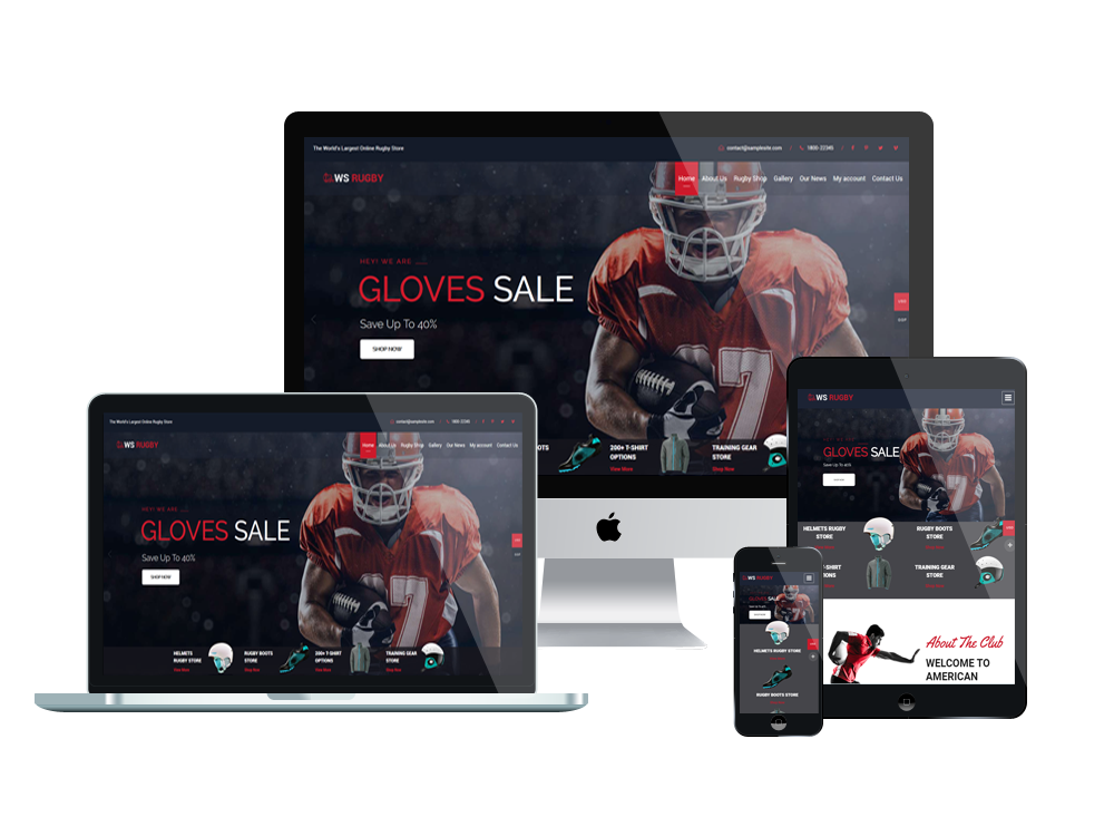 WS Rugby – Premium WordPress Football theme 2