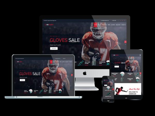 WS Rugby – Premium WordPress Football theme 1