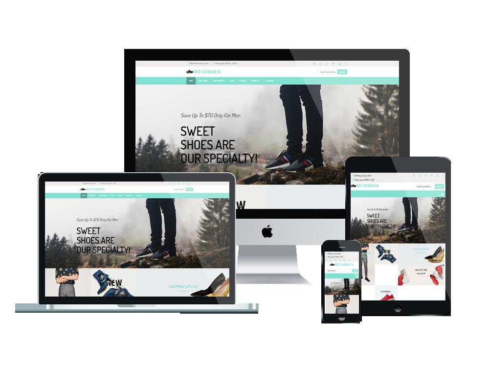 WS Sobafa – Shoes Store WooCommerce WordPress theme 3