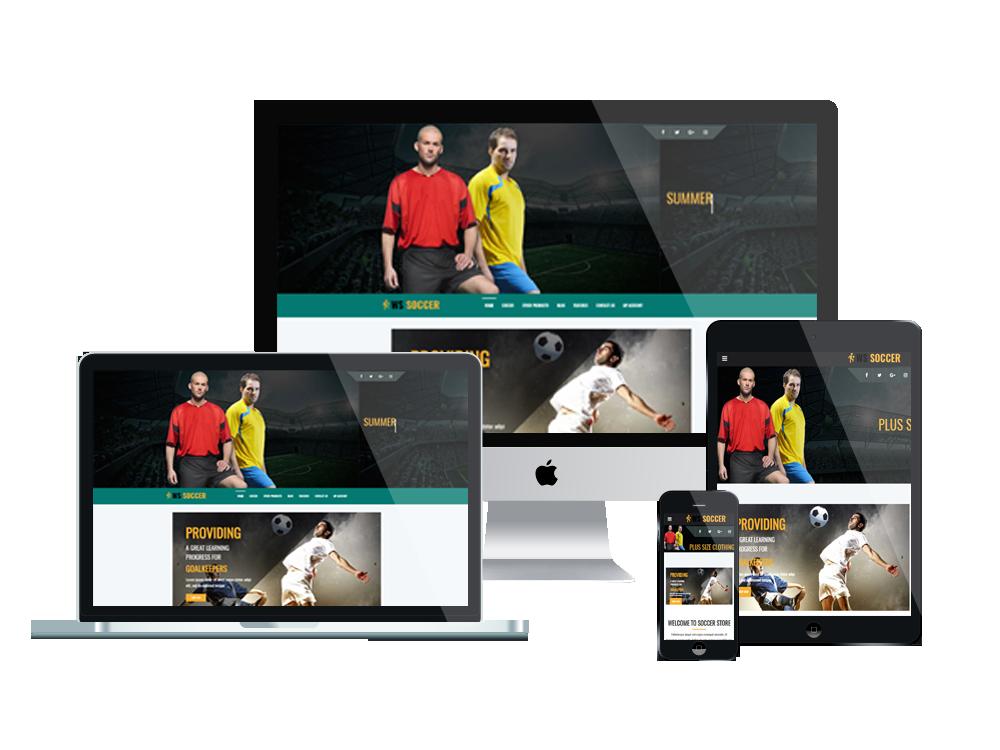 WS Soccer – Sport Clubs WooCommerce WordPress theme 3