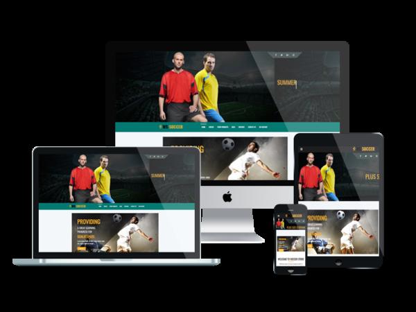 WS Soccer – Sport Clubs WooCommerce WordPress theme 1