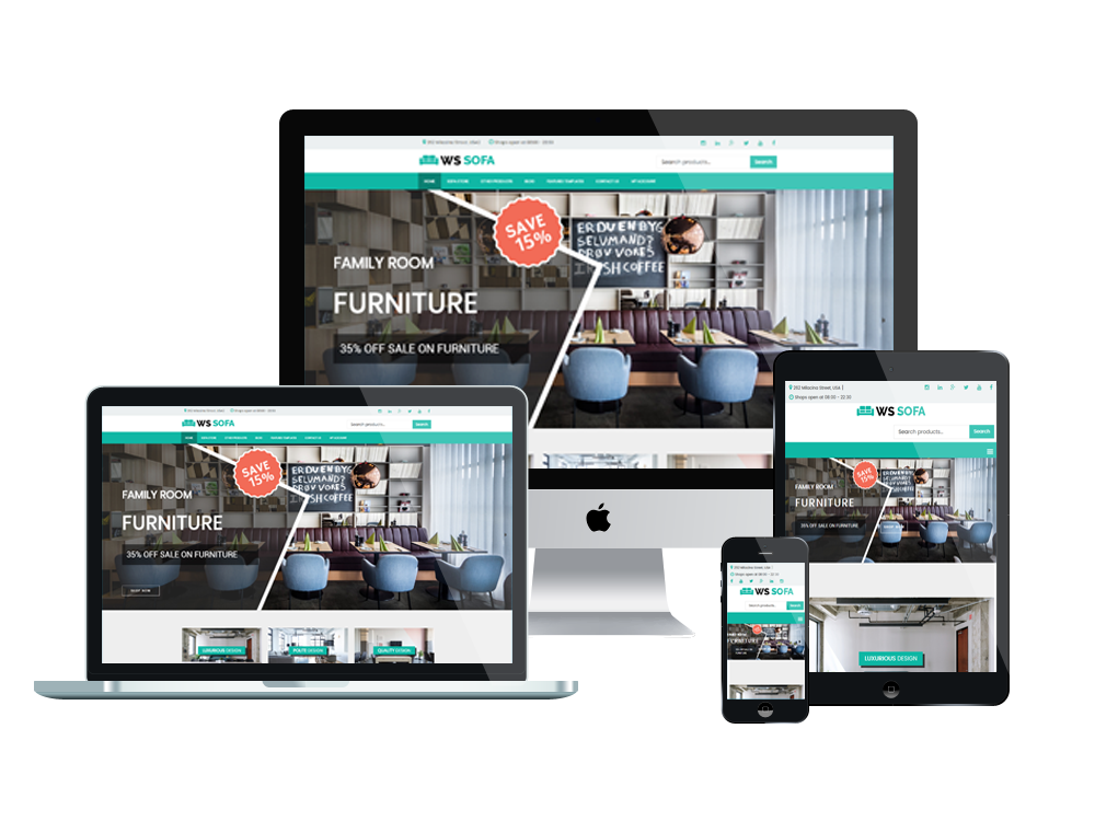 WS Sofa – Interior Shop WooCommerce WordPress theme 3