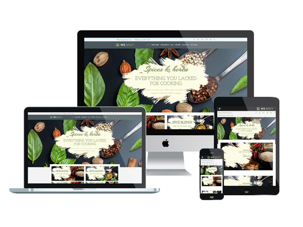 WS Spicy – Spices Store WooCommerce WordPress theme 3