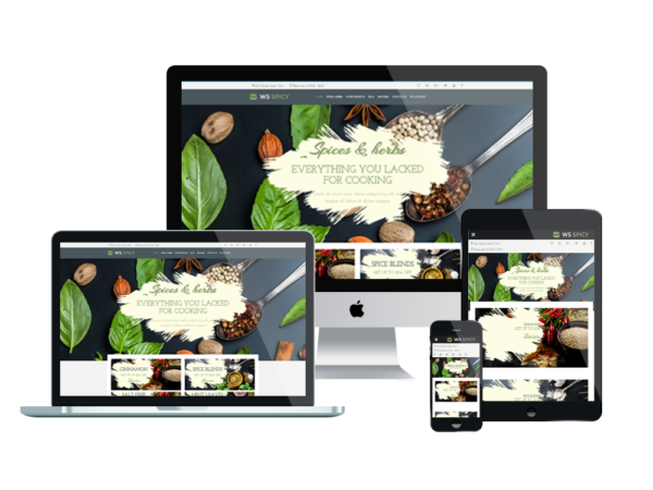 WS Spicy – Spices Store WooCommerce WordPress theme 1
