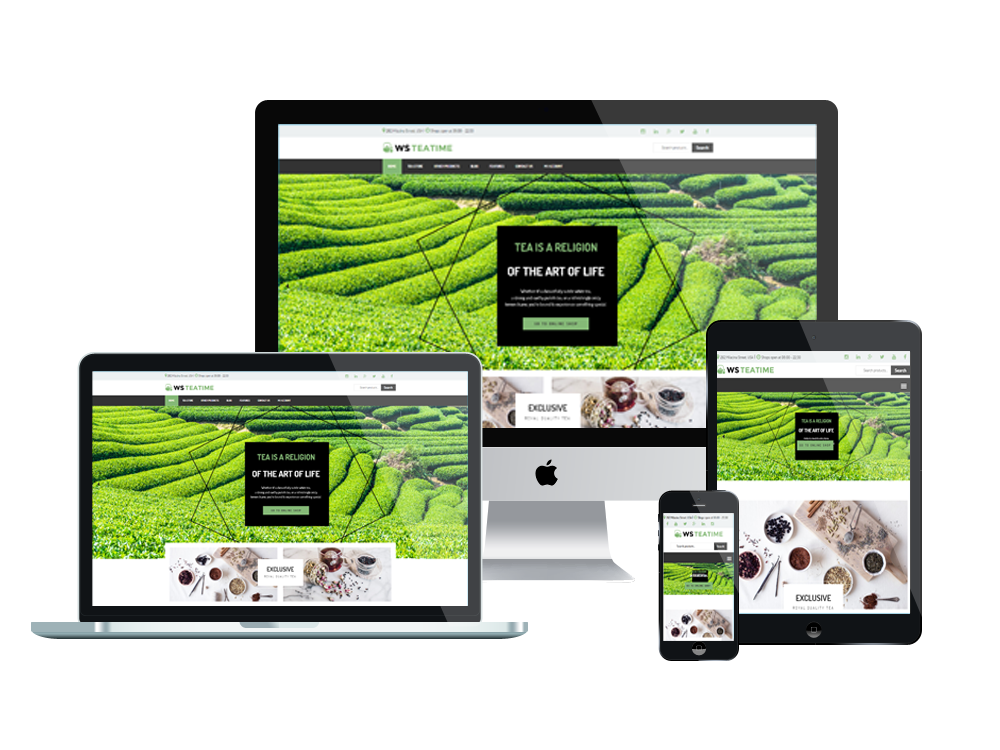 WS TeaTime – Tea Shop WooCommerce WordPress theme 3