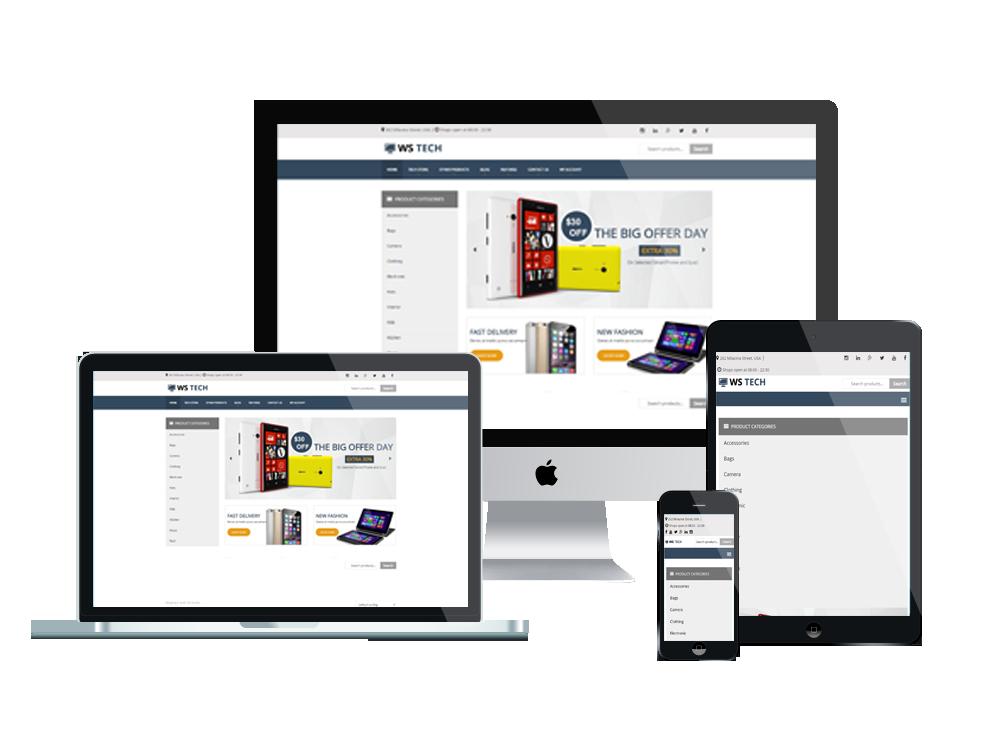 WS Tech – Hi-Tech Store WooCommerce WordPress theme 3