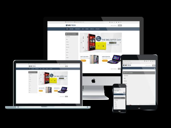 WS Tech – Hi-Tech Store WooCommerce WordPress theme 1