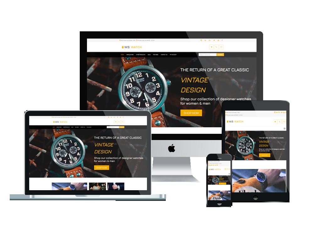 WS Watch – Watch WooCommerce WordPress theme 3