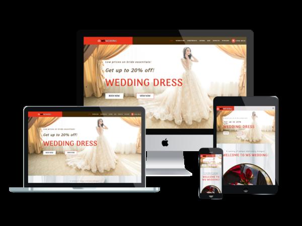 WS Wedding – Wedding WooCommerce WordPress theme 1
