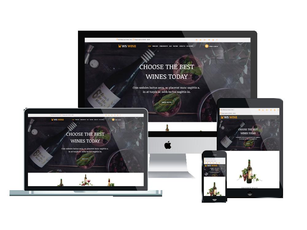 WS Wine – Wine Store WooCommerce WordPress theme 3