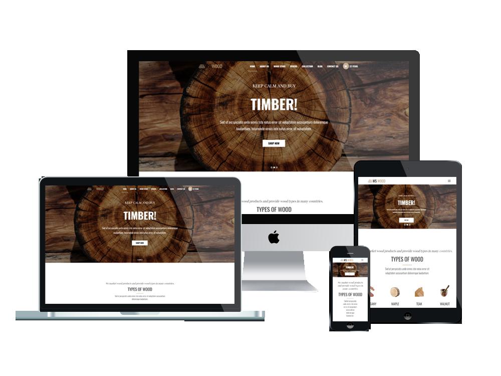 WS Wood – Carpenter WordPress theme 3