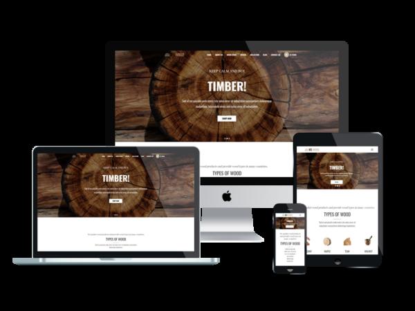 WS Wood – Carpenter WordPress theme 1